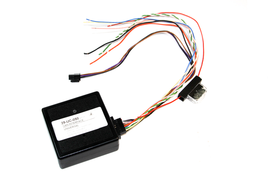 Universal CANbus steering control interface UNICAN