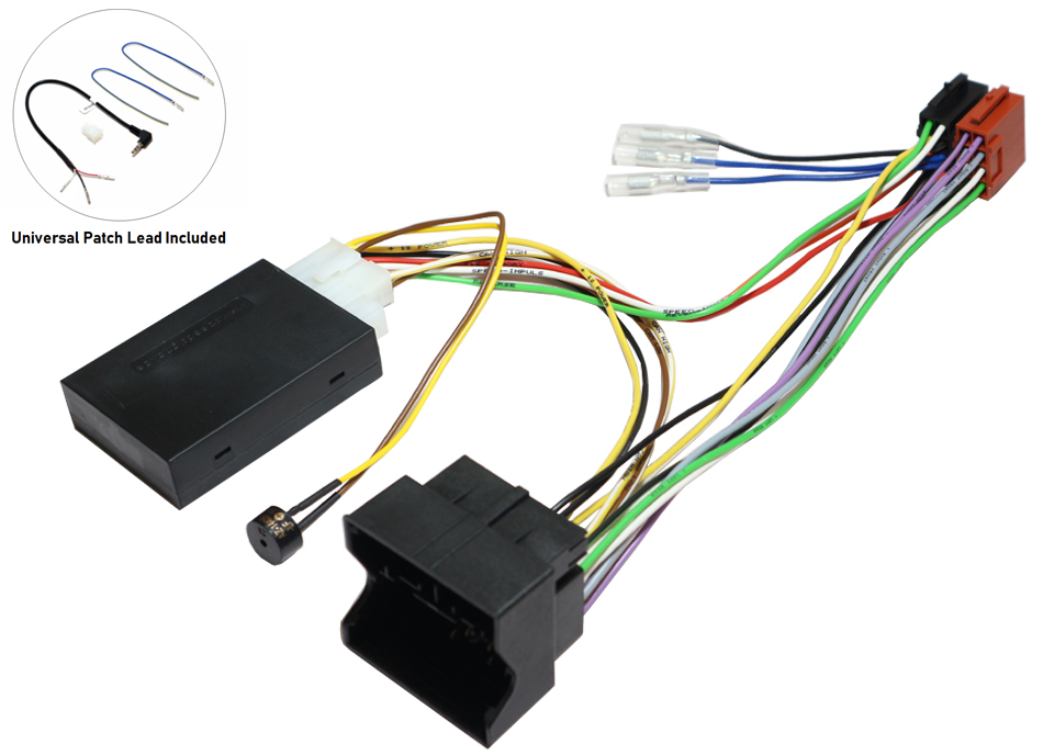 Citroen and Peugeot steering and parking interface
