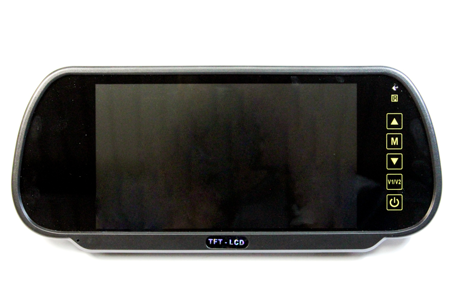 Clip over Rear View Mirror Monitor 7inch
