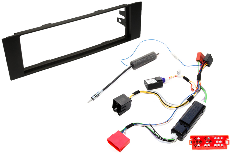 Audi A3 8P single din stereo fitting kit with CANbus ignition interface