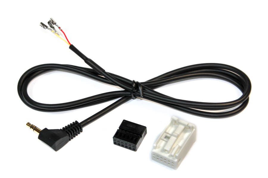 Aux in universal quadlock to 3.5mmjack