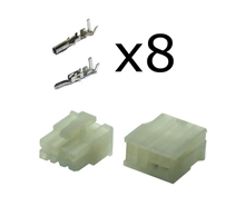 8 way Molex minifit connector kit