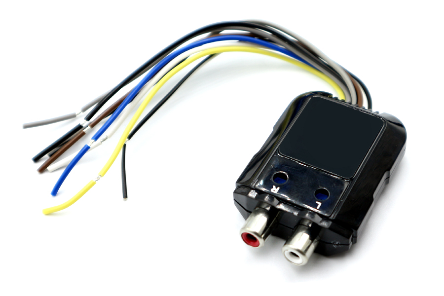 2 channel line out converter 80W w/ remote trigger