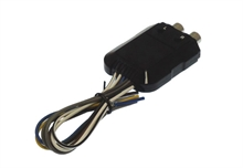 2 channel line out converter 150W w/remote trigger