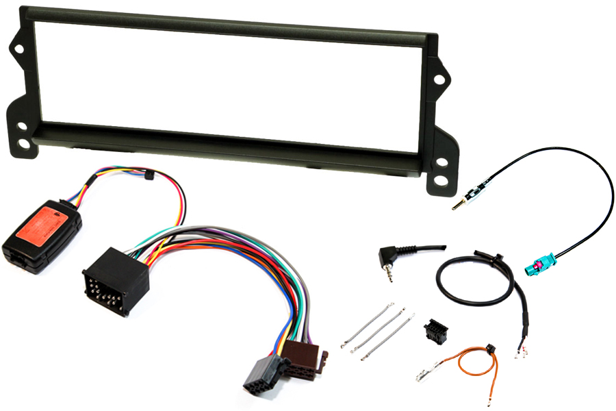 Mini (2001 - 2006) complete single DIN stereo upgrade fitting kit (Wave Cassette radio)