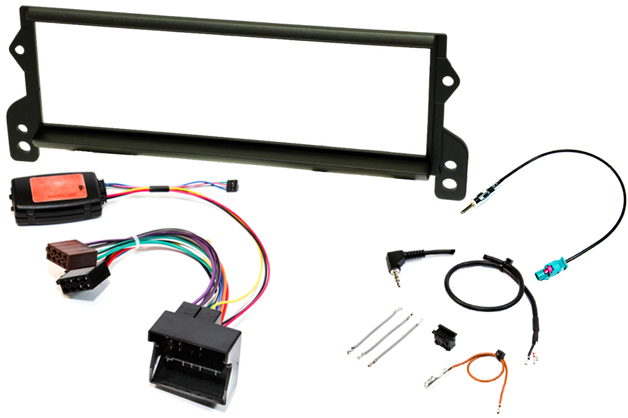 Mini (2001 - 2006) complete single DIN stereo upgrade fitting kit (Boost radio)