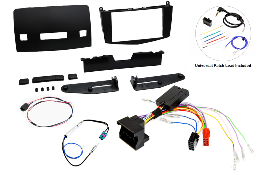 Mercedes C Class W204 facelift fitting kit