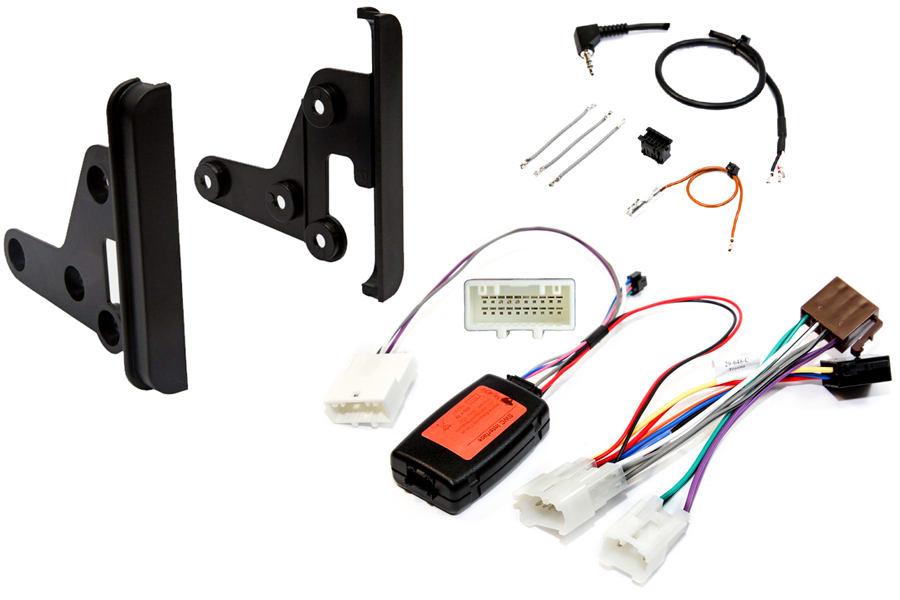 Toyota double din fitting kit w/ steering controls