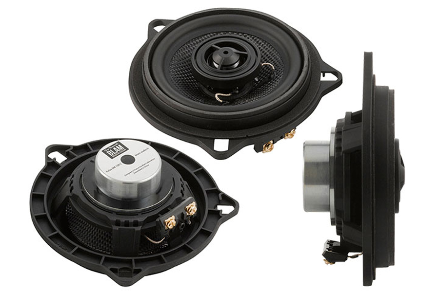 BLAM BMW and Mini dedicated 2-way 100 mm (4 inch) coaxial Speakers (PAIR)
