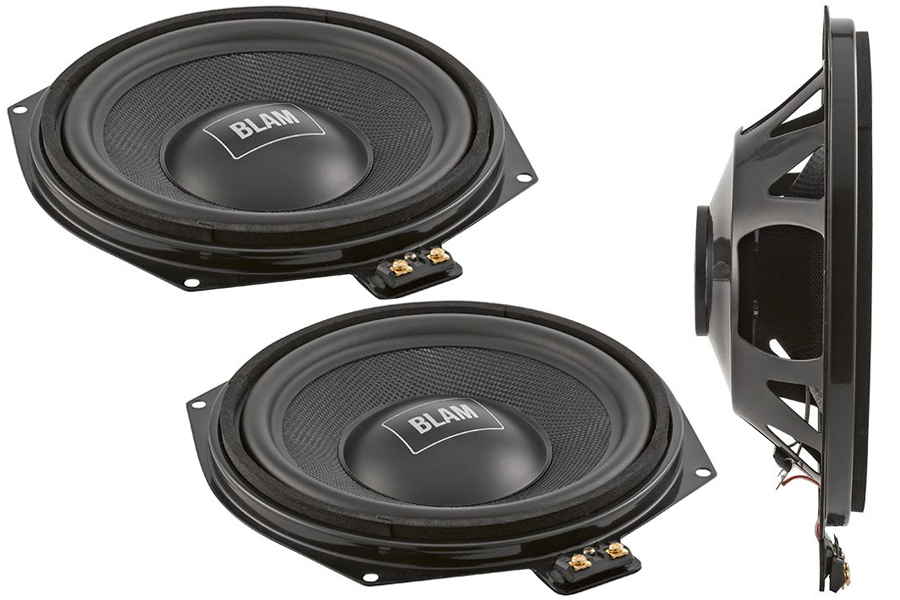 "BLAM BMW 8"" 200mm underseat subwoofer"