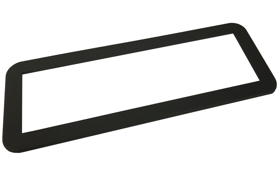 Universal DIN 12mm fascia trim (3mm thick)