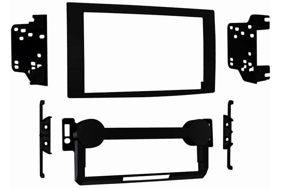 Chrysler/Jeep double din fascia adapter