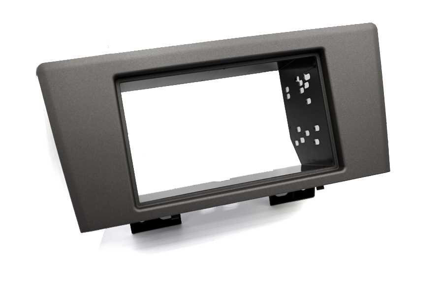 Volvo C70, S60, V70 and XC70 2000-2005 single and double DIN radio fascia adapter panel