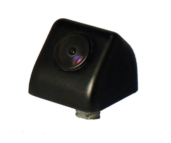 Vertical surface mount reverse camera - black