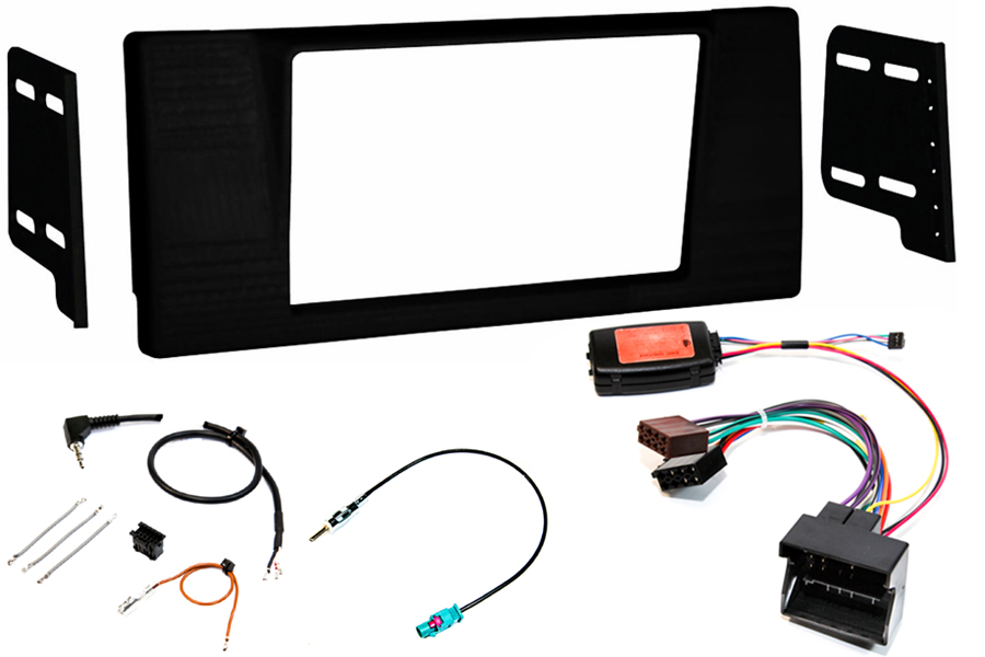 BMW E39 5 series double din fitting kit quadlock