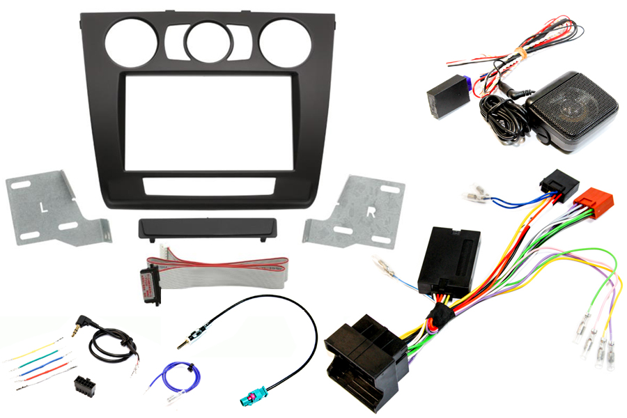 BMW 1 Series SWC PDC fitting kit manual air