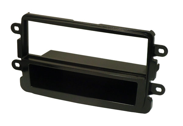 Dacia single din gloss black fascia