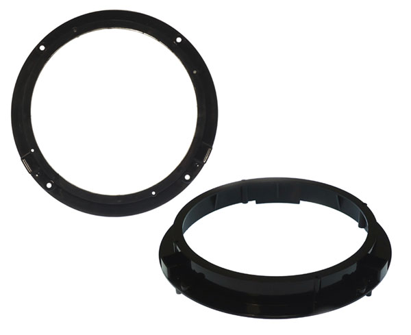 Audi A1 front door 200mm speaker adapter rings