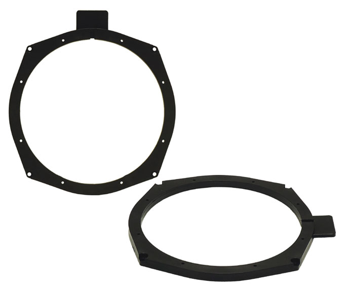 BMW 5 series 2011> rear speaker rings 200mm