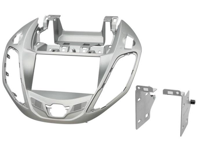 Ford B-Max 2012> double din fascia silver