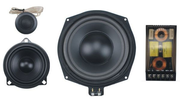 BMW component speakers and subwoofers