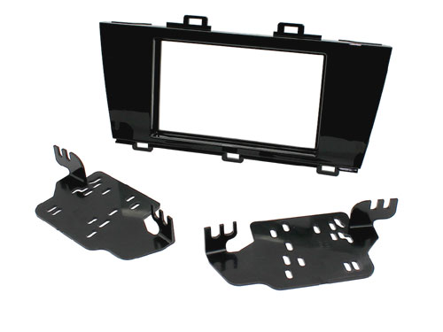 Subaru Legacy, Outback 15> gloss black fascia