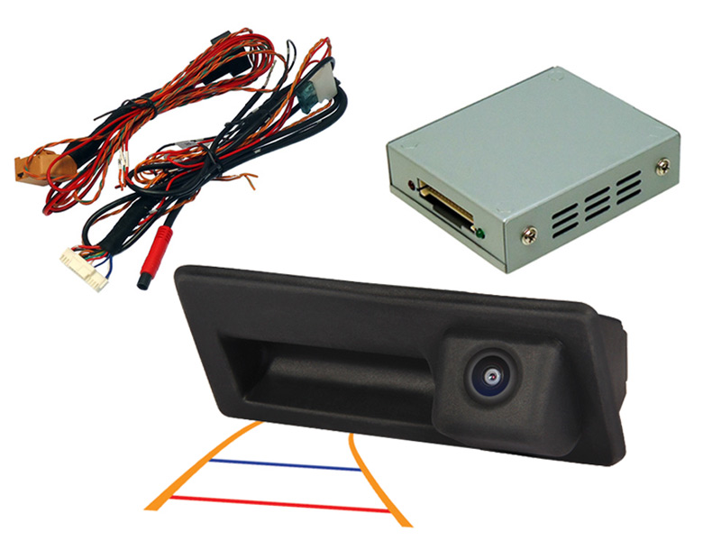 VW  Toureg  Tailgate camera  RNS850 & IPAS