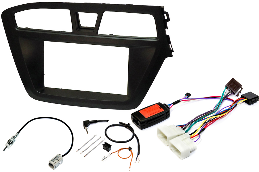 Hyundai i20 2014 radio replacement kit
