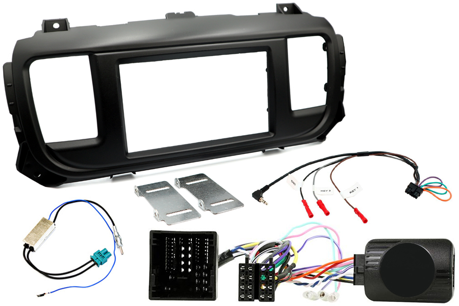 Dispatch, Expert, ProAce radio replacement kit