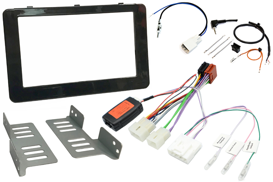 Toyota Hilux 2016 radio replacement kit