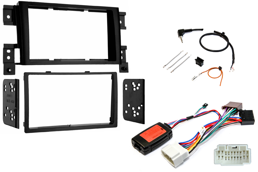Suzuki Grand Vitara radio replacement kit