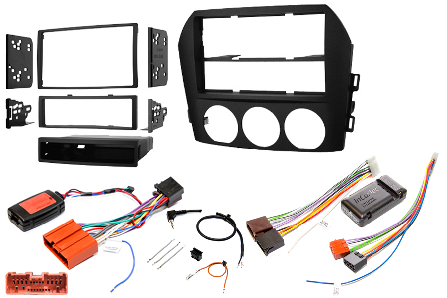 Mazda MX5 06-09 radio replacement kit (Bose)