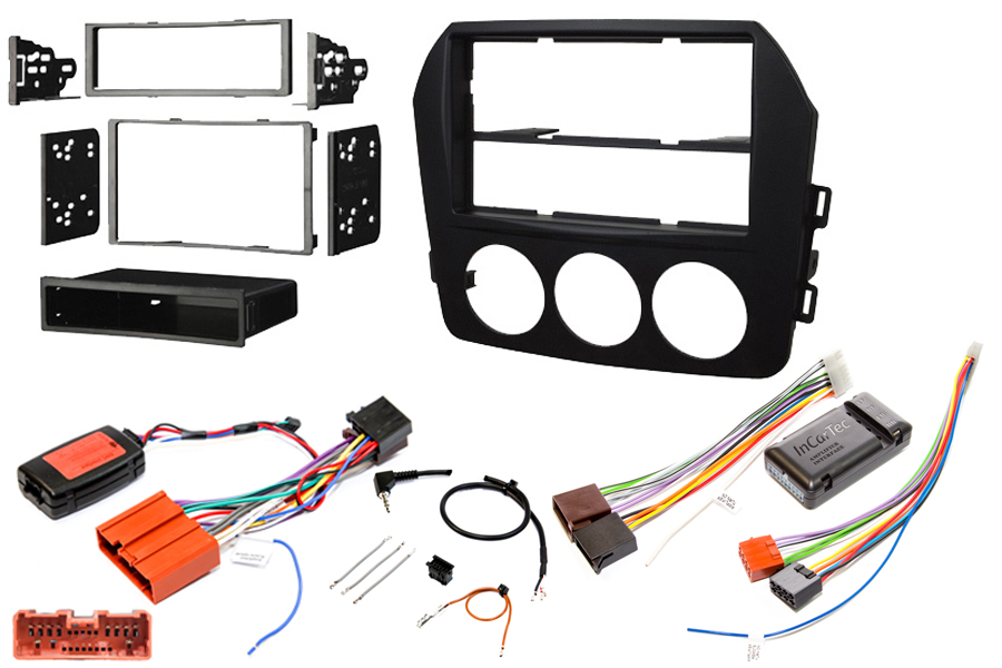 Mazda MX-5 2009-15 radio replacement kit BOSE