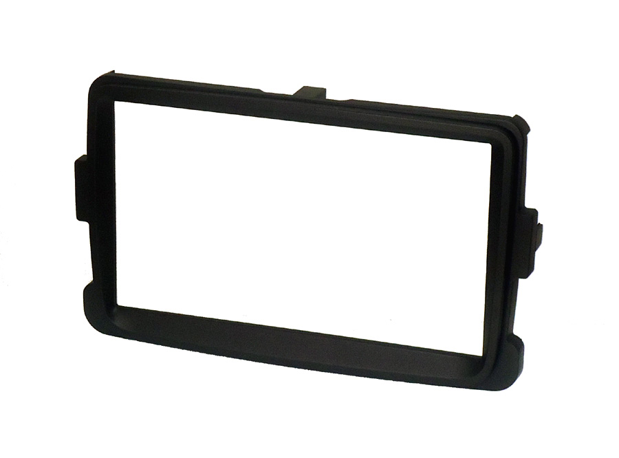 Renault Captur double din fascia black