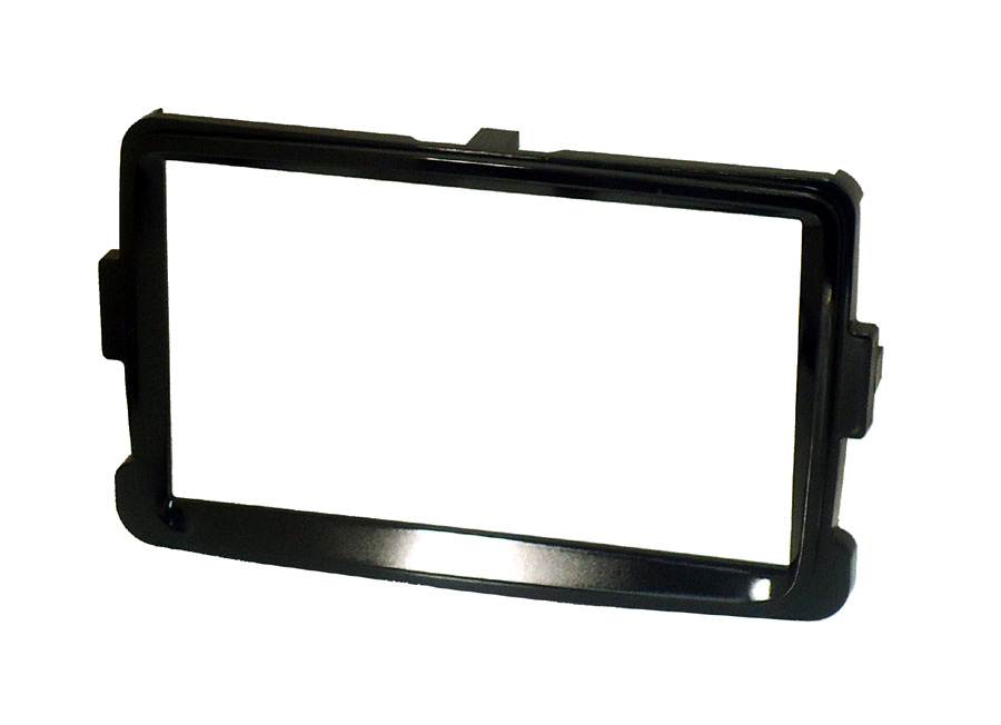 Renault Captur double din fascia gloss black