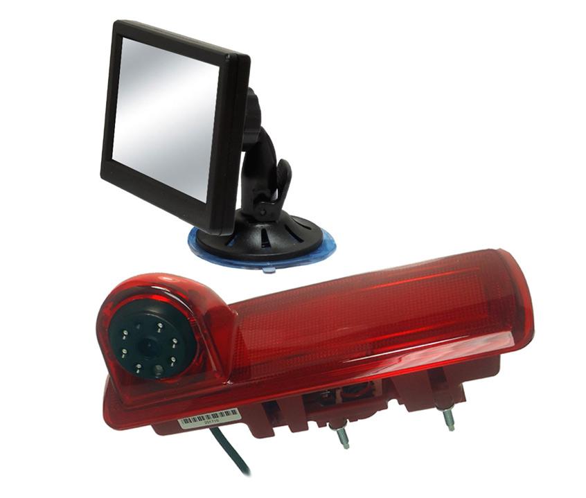 Vivaro, Trafic, NV300 rear camera and monitor kit