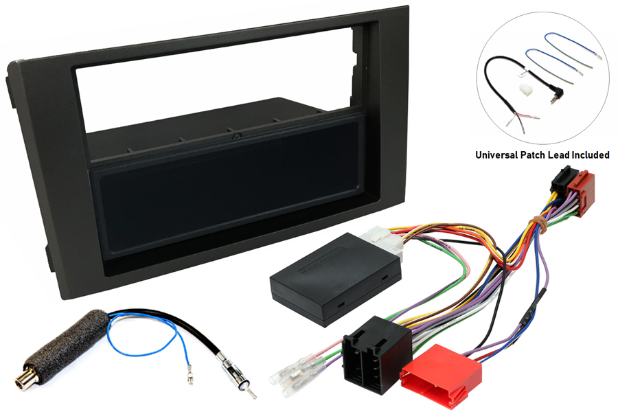Iveco Daily 06-14 radio replacement kit - InCarTec