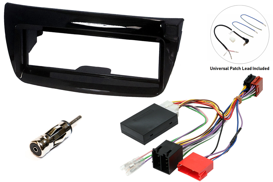 Fiat Doblo, Vauxhall Combo single din fitting kit