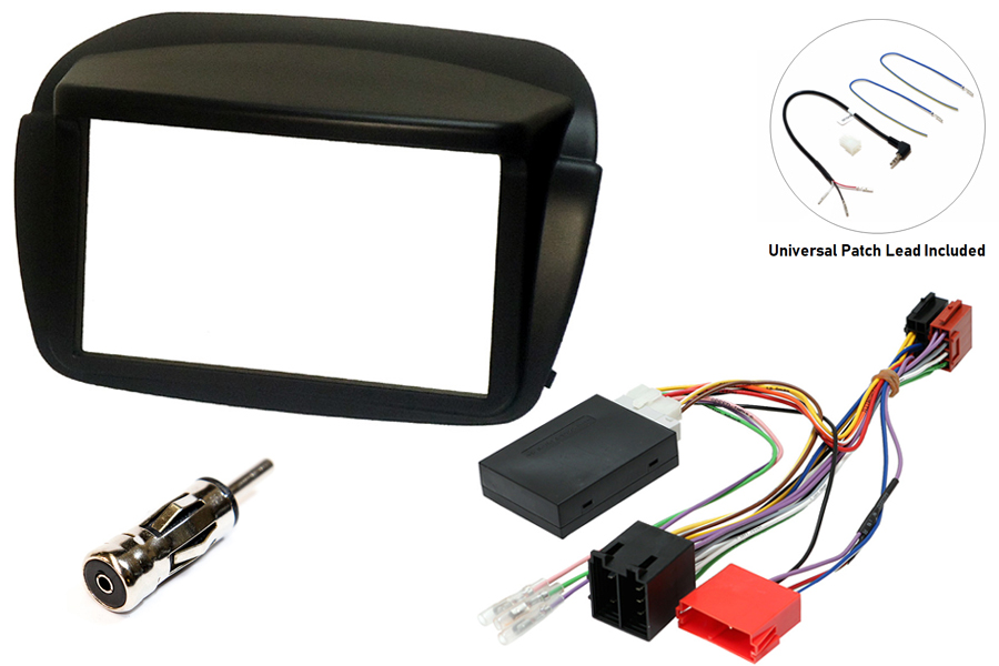 Fiat Doblo, Vauxhall Combo double din fitting kit