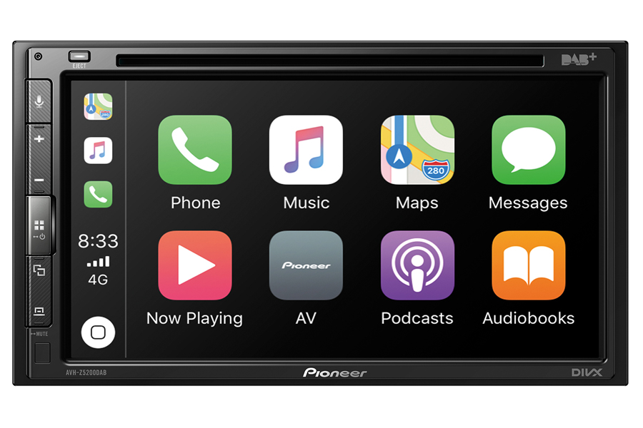 Pioneer AVH-Z5000DAB Multimedia car stereo with CD , Car Play, Android Auto