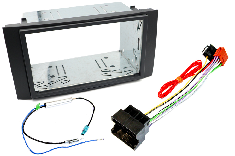 VW Caravelle, Touareg double din fitting kit