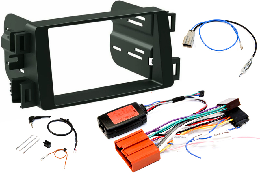 Mazda 6 2012 radio replacement kit