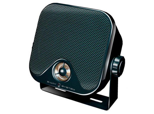 2 way surface speakers (PAIR)
