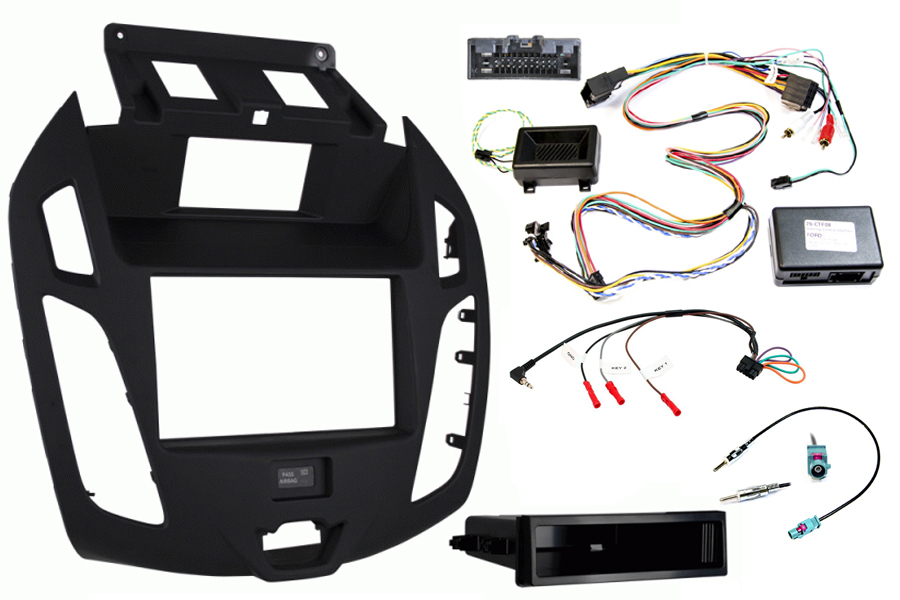 Ford Transit Connect fitting kit, with display