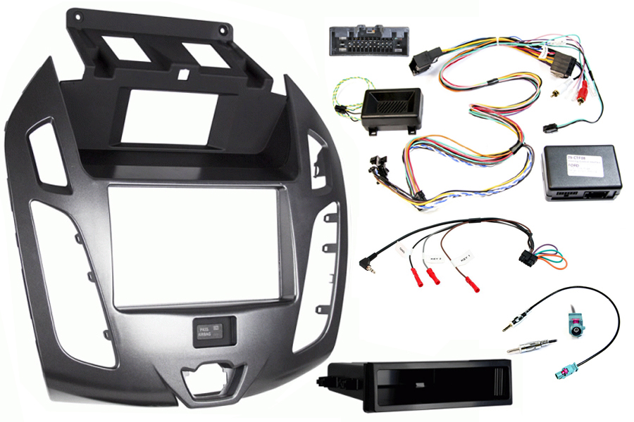 Ford Transit Connect kit, with display silver