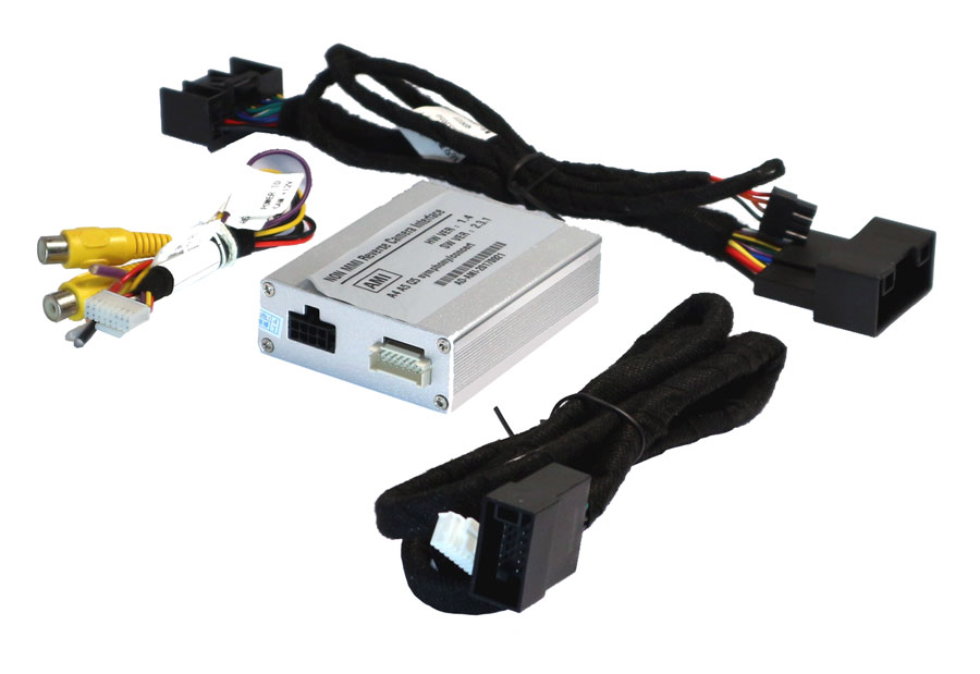 Add camera to Audi A4, A5, Q5 Non MMI for Concert & Symphony system