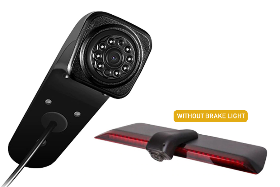 VW Crafter 2017> brake light rear view camera