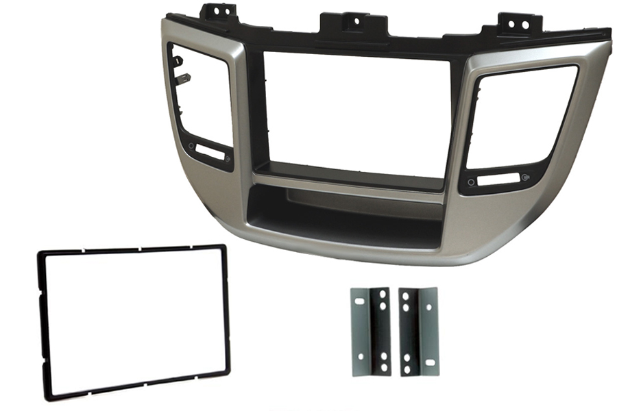 Hyundai Tucson 2015> double din fascia panel right hand drive