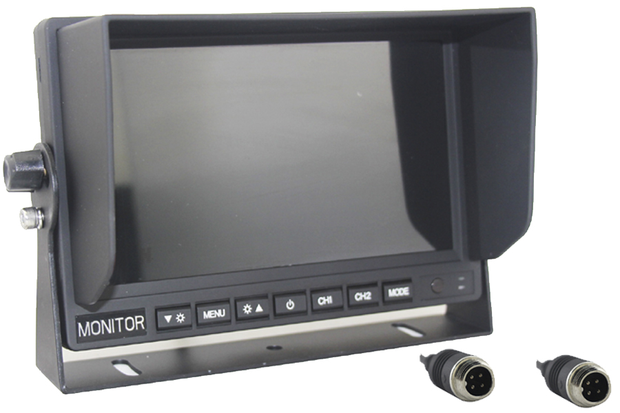 7 inch Rear View Monitor / Screen  4PIN connectors