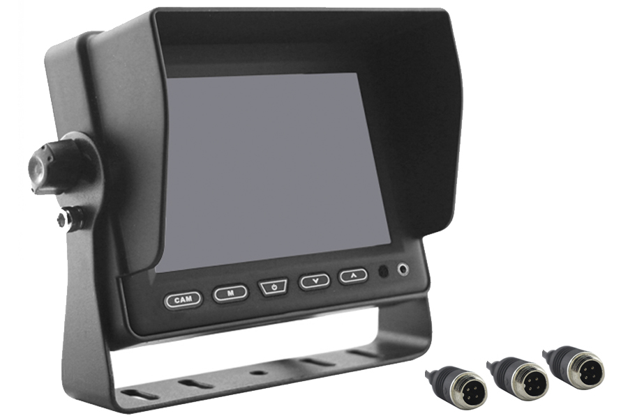 5 inch Rear View Monitor / Screen  4PIN connectors